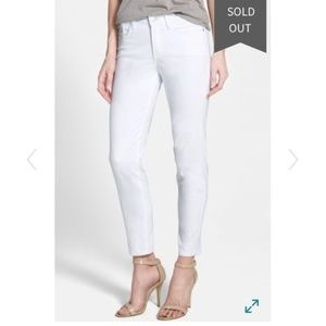 NWT NYDJ Clarissa White Ankle Jeans Size 18